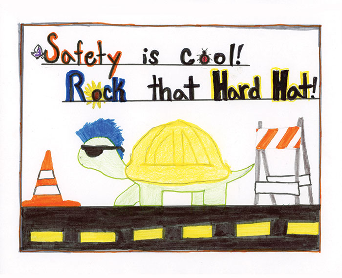 ADOT Safety Calendar cover