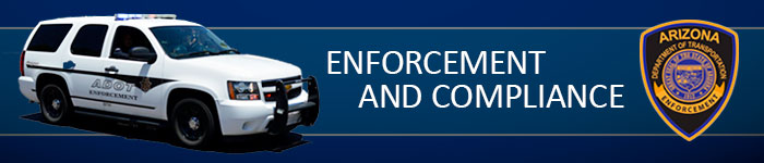 Enforcement and Compliance Division Banner