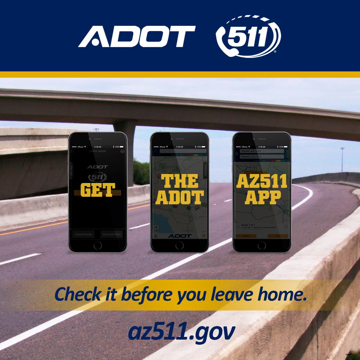 AZ511 app graphic