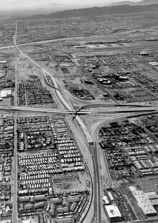 State Route 143 and Loop 202 in 1992