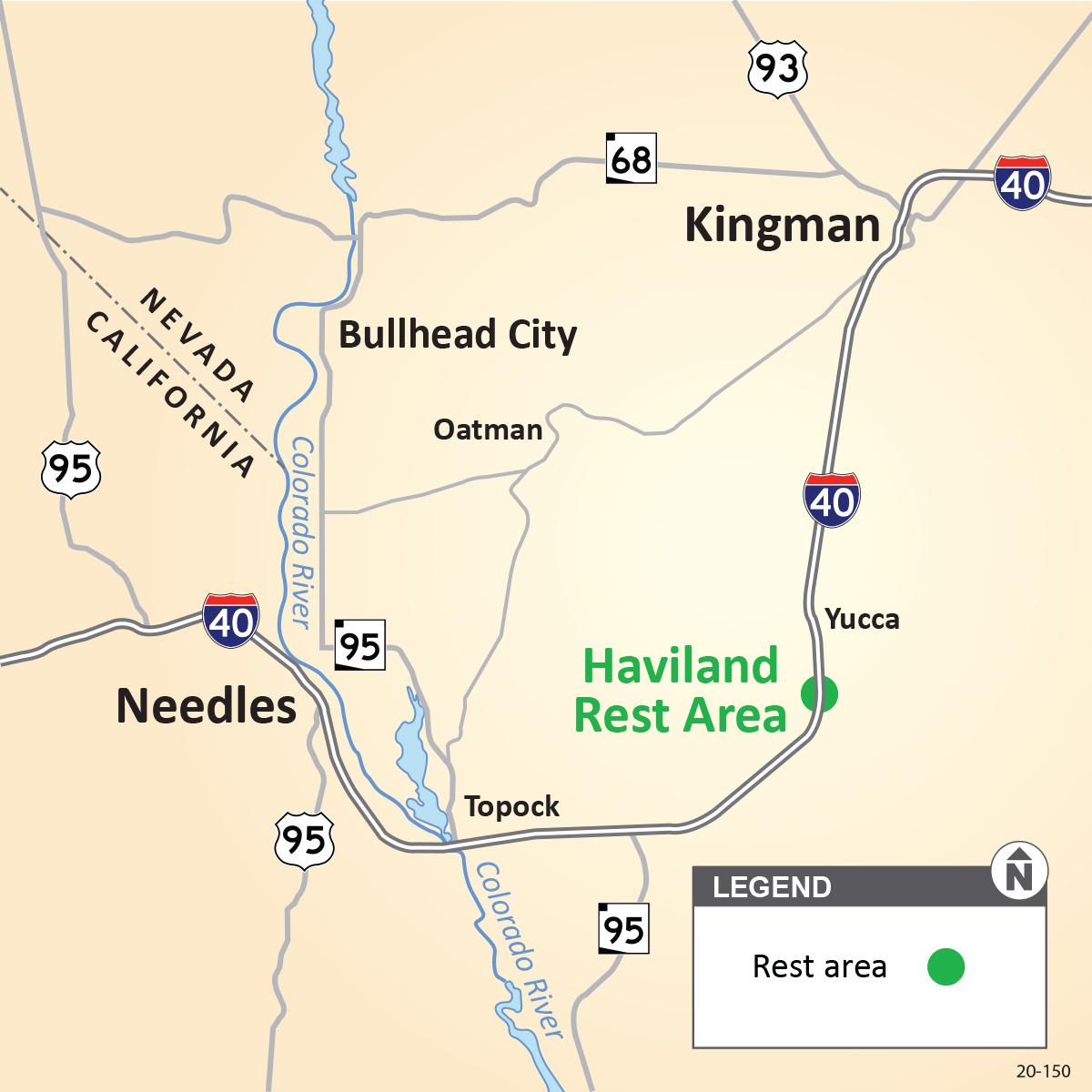 Haviland Rest Area