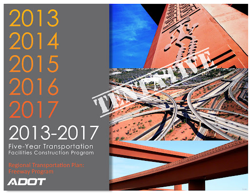 Cover of the tentative five year transportation plan