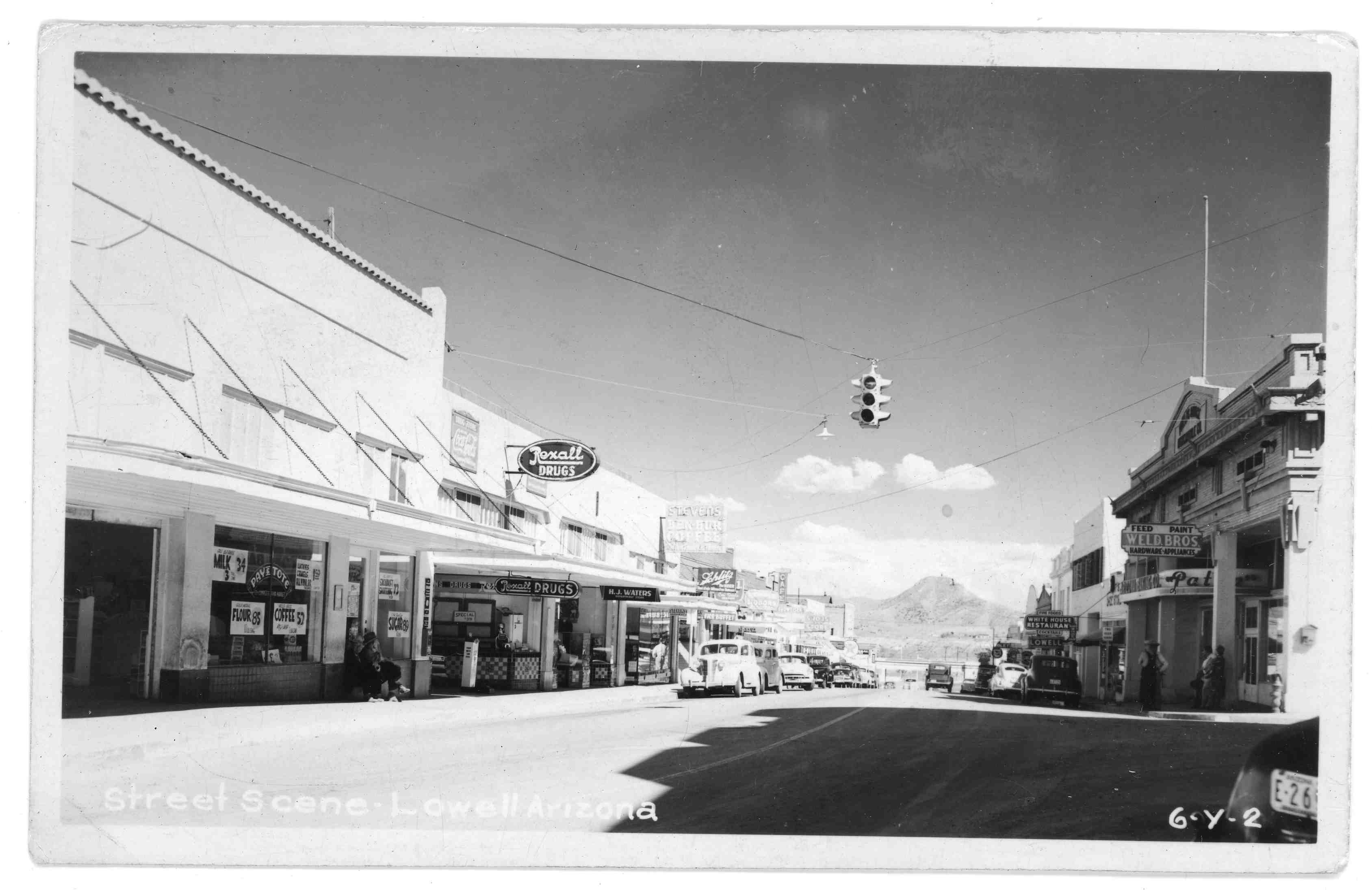 Bisbee Historical and Mining Museum photo, Lowell in 1930s