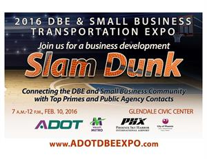 DBE & Small Business Transportation Expo Banner - 2016