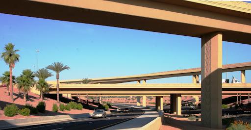 I-10 and Loop 202 traffic interchange