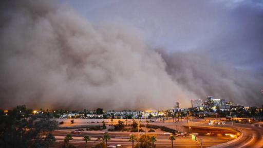 Duststorm over Phoenix