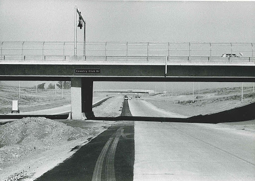 Country Club Dr overpass over US 60