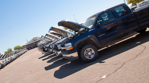 ADOT vehicles available for auction.