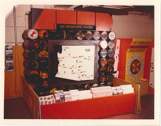 Arizona Highway Department Booth and Arizona State Fair