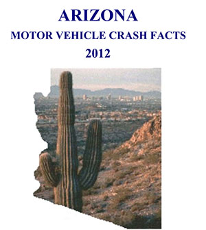 Arizona Motor Vehicle Crash Facts cover 2012