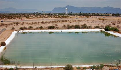 A water source for the SR 24 project.