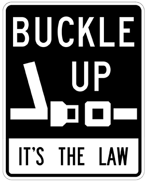 Buckle Up, It's the Law