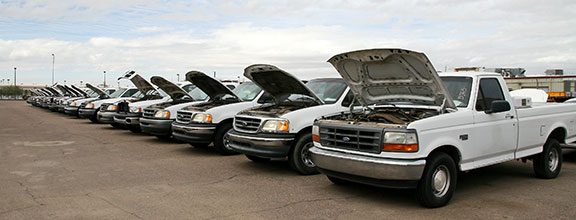 ADOT trucks up for auction