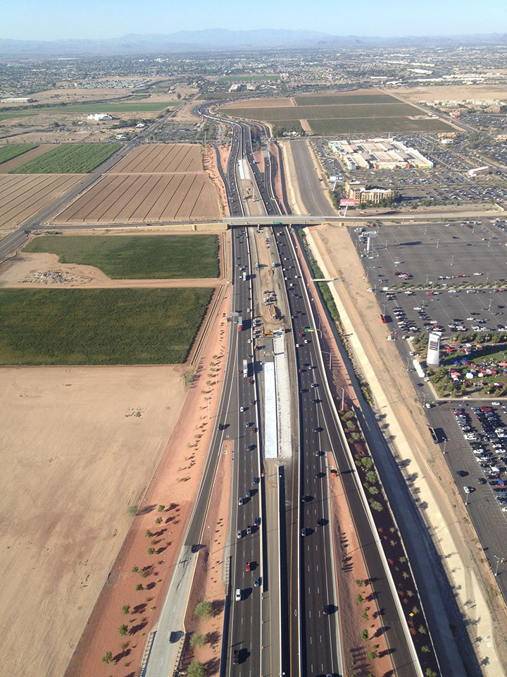 Overhead view for loop 101