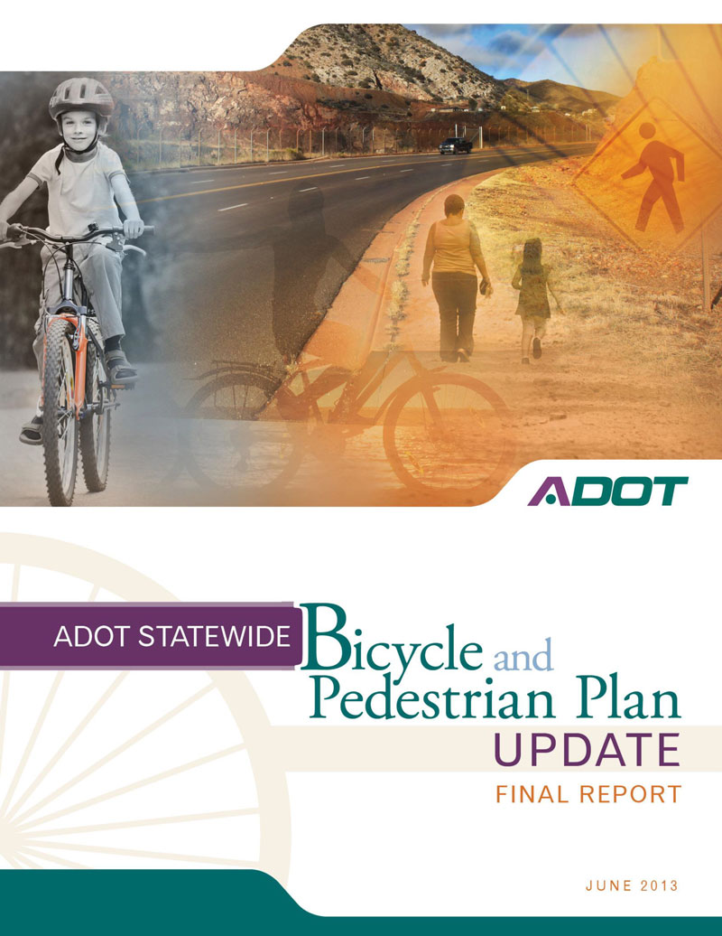 Bicycle and Pedestrian Plan Update report cover