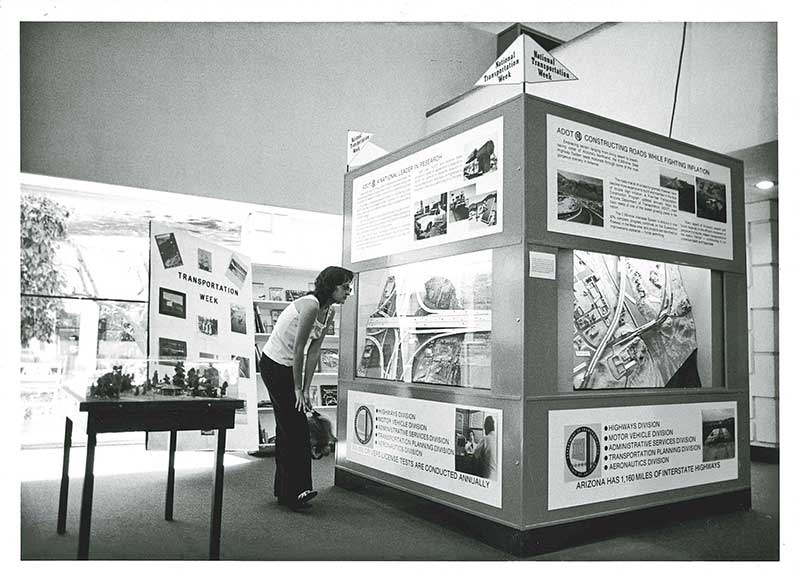 National Transportation Week Display from 1980