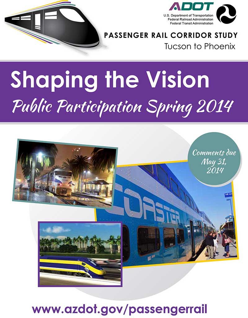 Passenger Rail Corridor Study Flyer