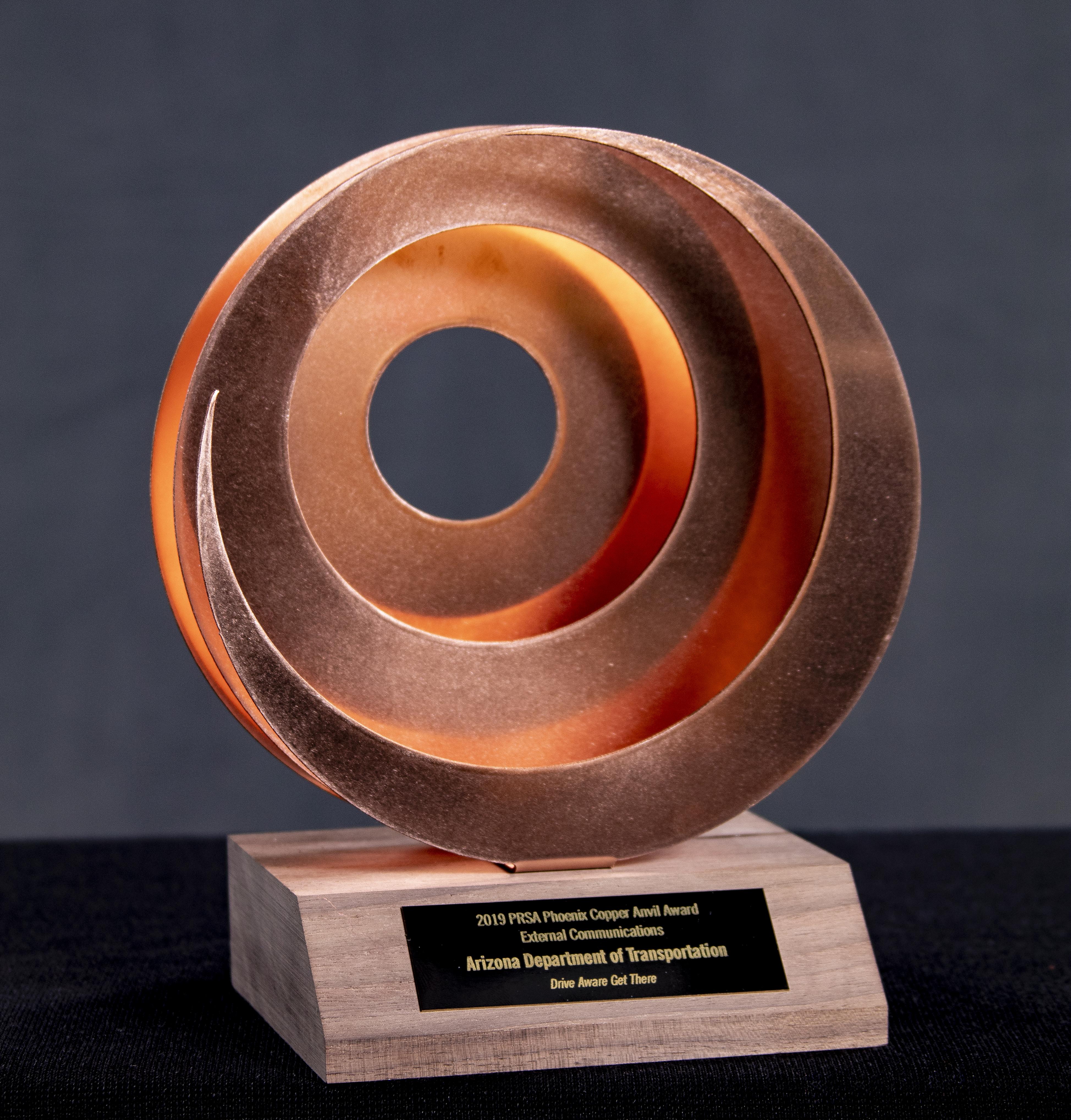 Copper anvil award 2019