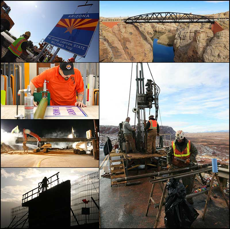 ADOT images collage