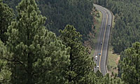 Aerial view of SR 260