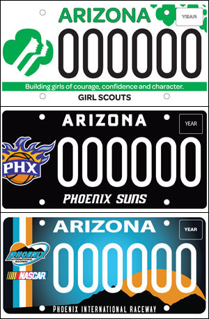 New specialty license plates