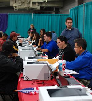 MVD employees at the 2016 StandDown event