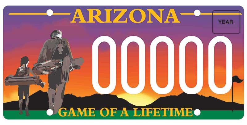 Southwest PGA license plate