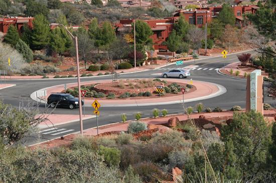 Sedona roundabout