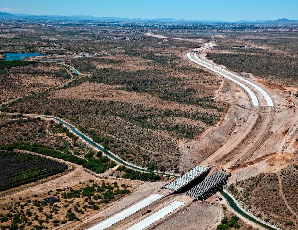 Aerial view of Loop 303