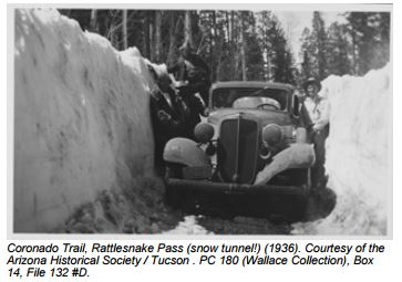 1936 Coronado Trail, Rattlesnake Pass