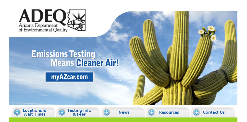 ADEQ Emissions testing means cleaner air
