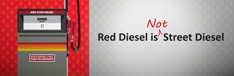 Red diesel is not street diesel | ADOT