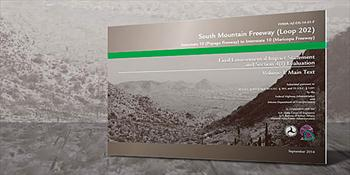Cover of South Mountain Freeway document