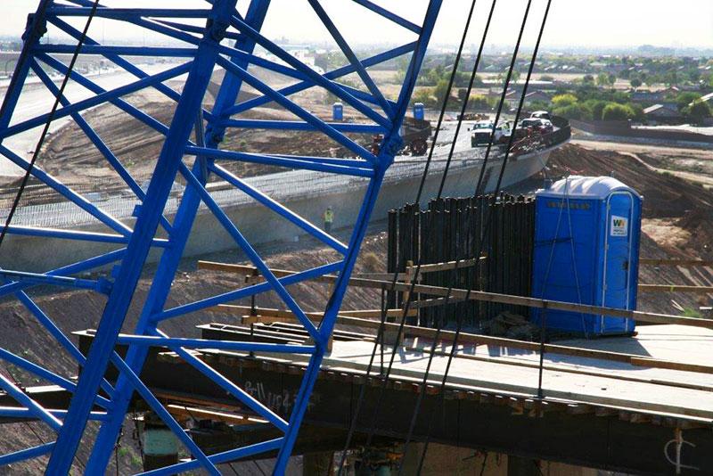 Blue Construction Equipment