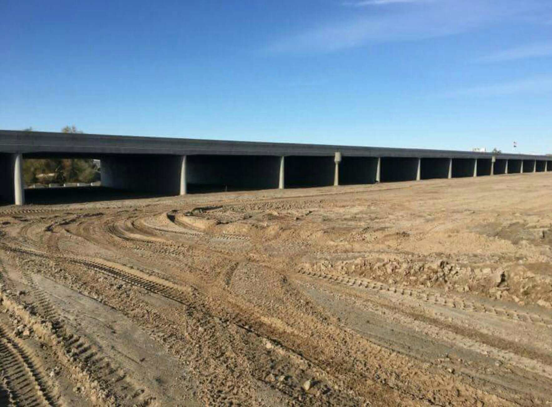 New Fortuna Wash Bridge in Yuma