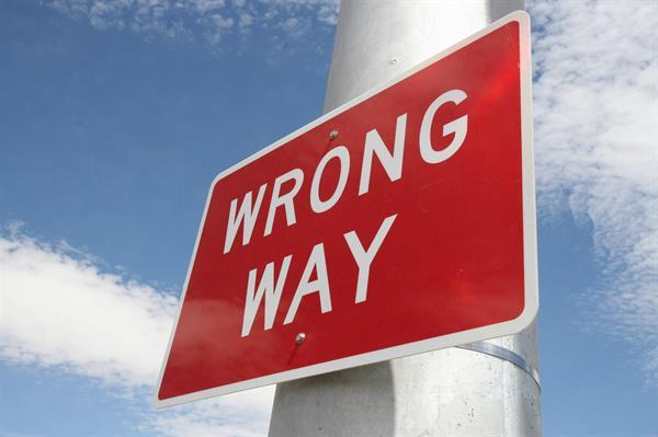 """""""Wrong Way"""""""