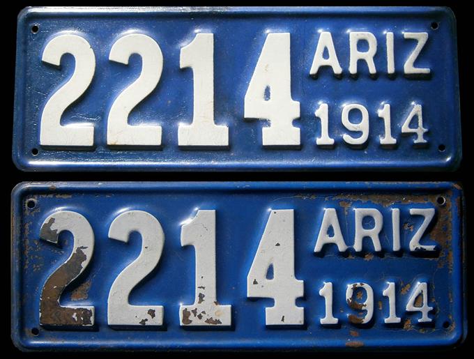 1914 Plates