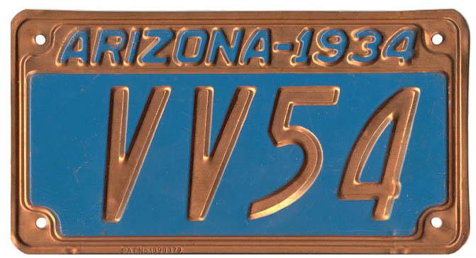 1934 Coco plate