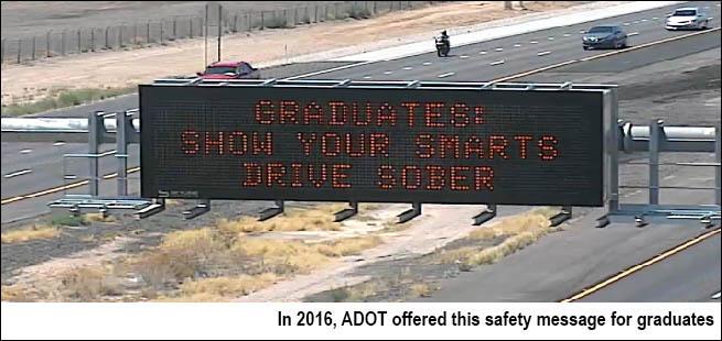 """""""Graduates; Show your Smarts - Drive Sober"""""""