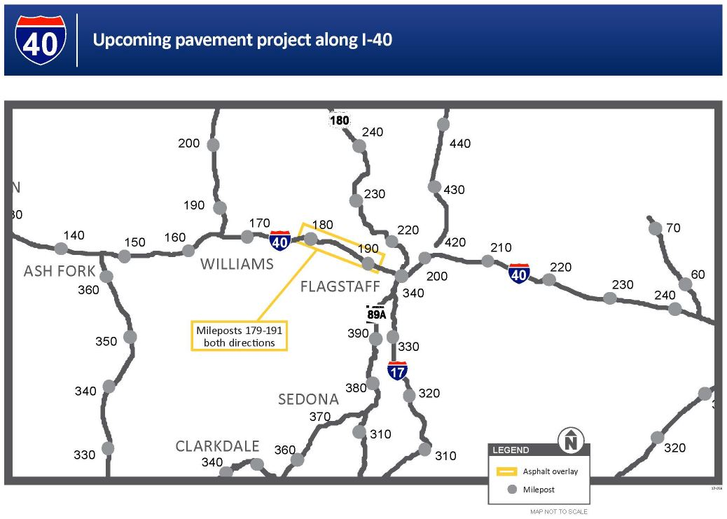 I-40 paving map