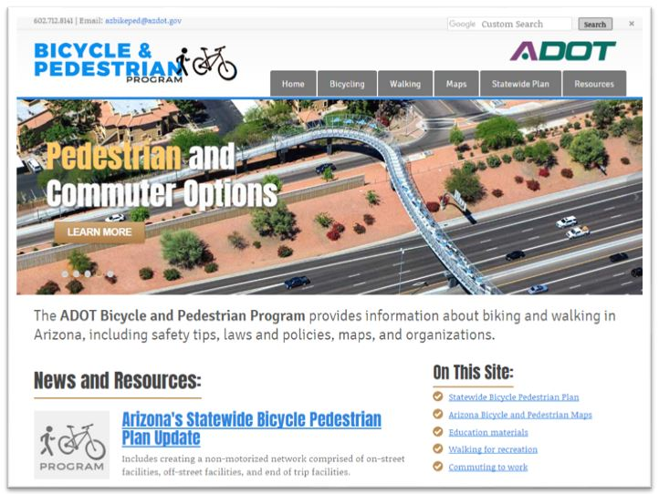 Bike Ped Website