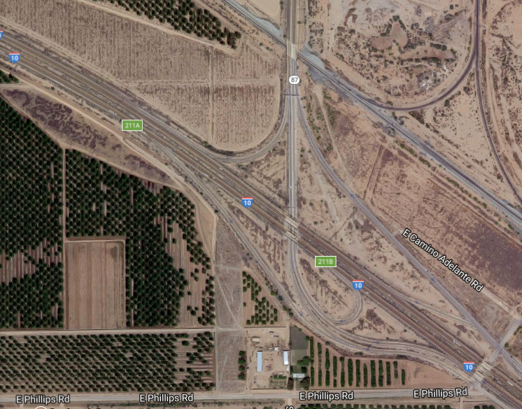 SR 87 Traffic Interchange