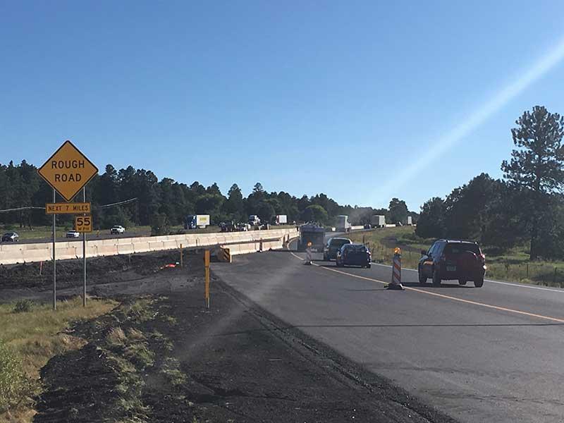 I-40 Road work