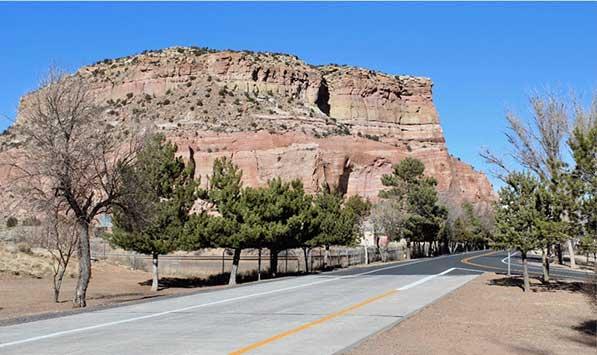 Painted Cliffs Rest Area