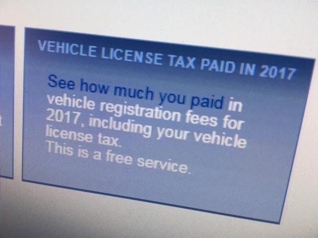 Vehicle Fee Recap