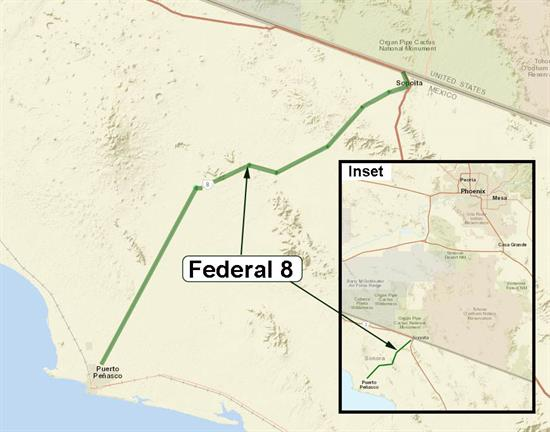Federal 8 Map