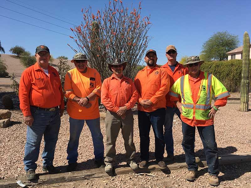 Mesa Landscape crew