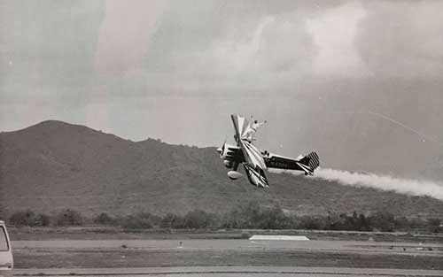 Flying plane, Festival of Flight, 1978