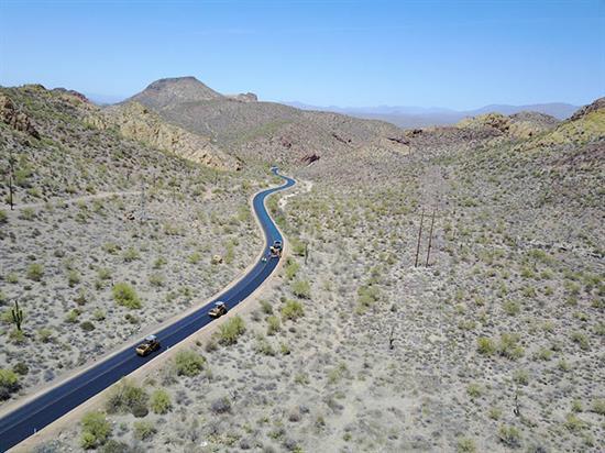 Aerial view of Apache Trail / SR 88