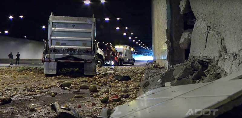 Damaged Tunnel